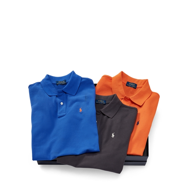 Ralph Lauren Cotton Polo 3 - Piece Gift Set Multi M