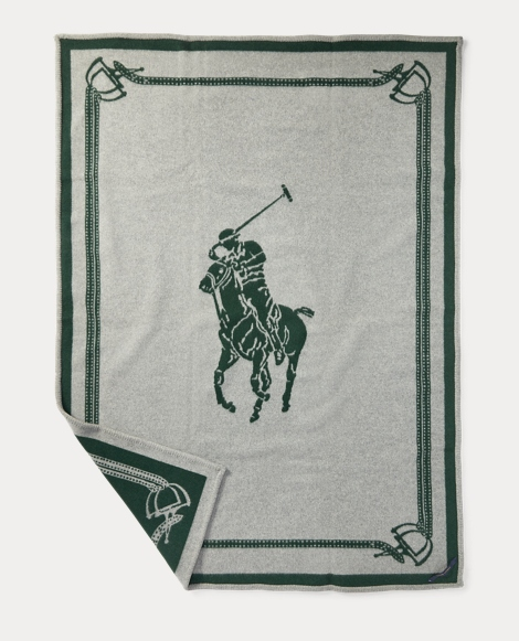 Signature Pony Throw Blanket