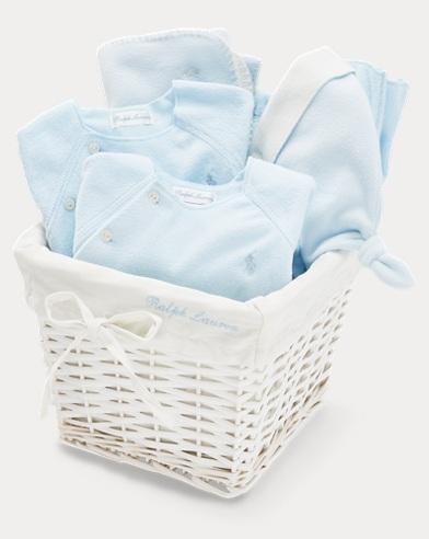 Fleece Gift Basket