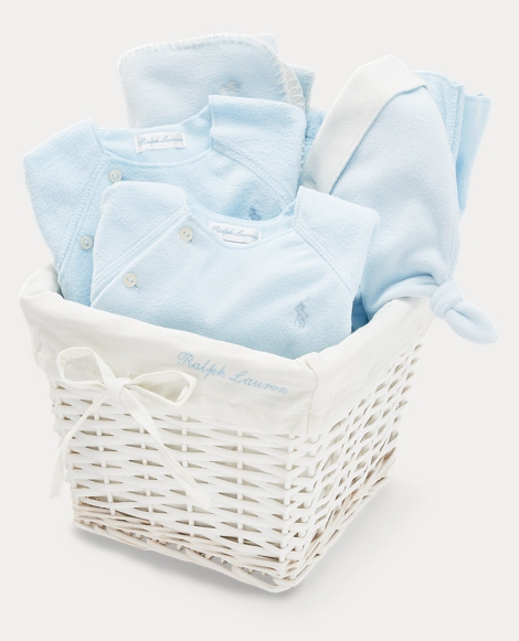 Fleece Gift Basket