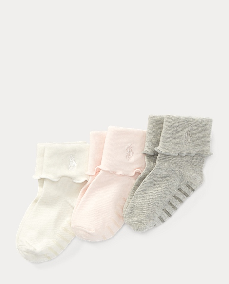 Fold-Over-Cuff Sock 3-Pack