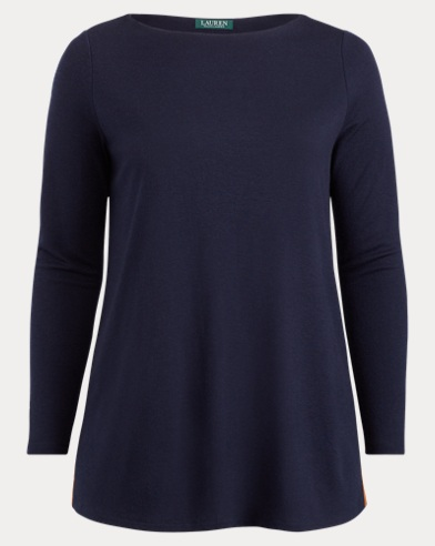 Boatneck Tunic Top