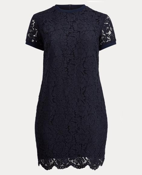 Lace T-Shirt Dress
