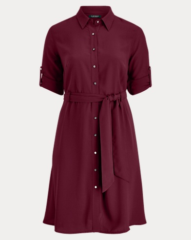 Georgette Shirtdress