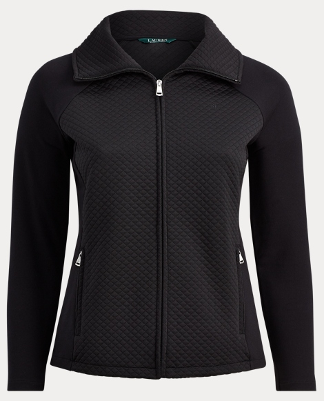 Quilted Full-Zip Jacket
