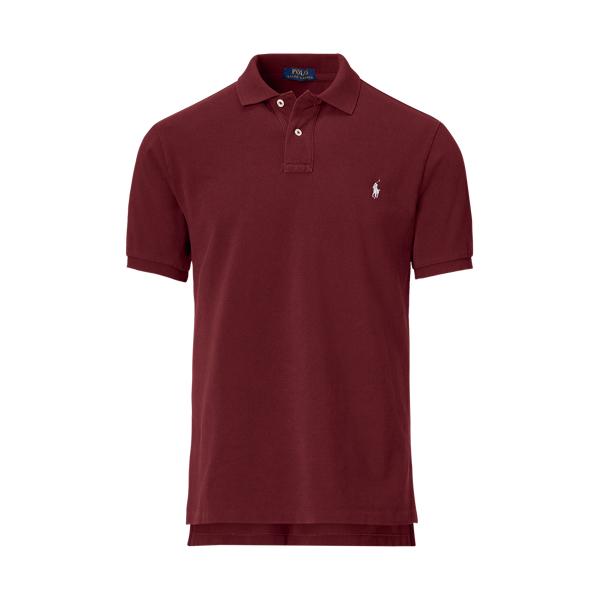 Ralph Lauren Cyo Classic-Fit Polo Shirt Fall Burgundy Xs