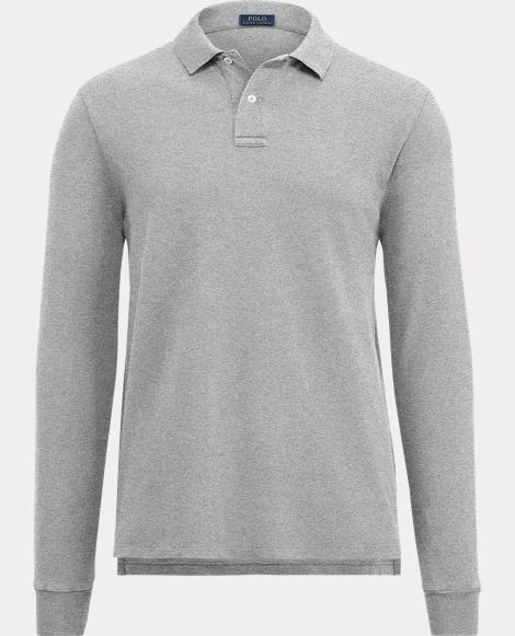 Men's Cotton Mesh Polo Shirt