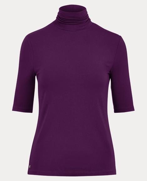 Jersey Turtleneck Shirt