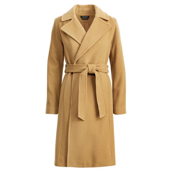 Ralph Lauren Wool-Cashmere Wrap Coat Vicuna 2