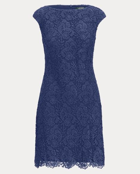 Floral Lace Sheath Dress