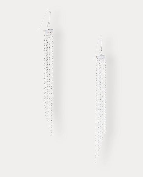 Linear Fringe Earrings