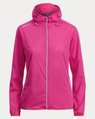 Wind-Resistant Mockneck Jacket