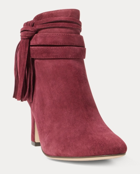 Belcia Fringe Suede Boot