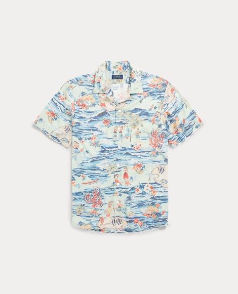 Classic Fit Camp Shirt