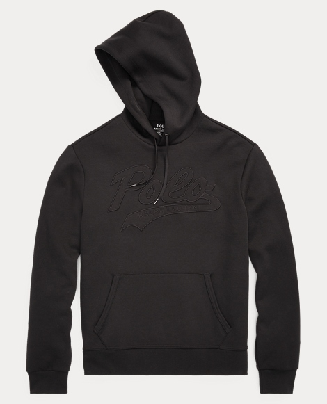 Embroidered Double-Knit Hoodie