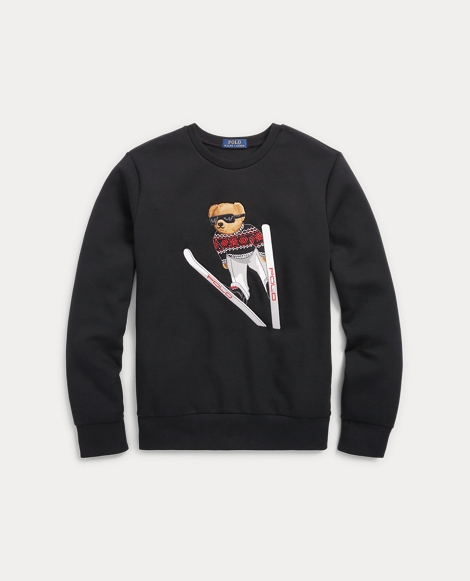 Polo Bear Crewneck Sweatshirt