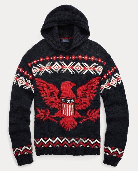 Intarsia Merino-Blend Sweater