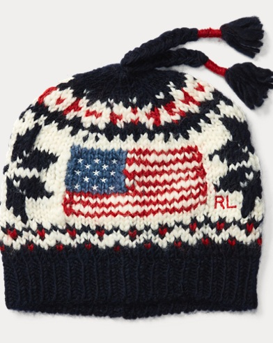 Flag Wool-Blend Hat