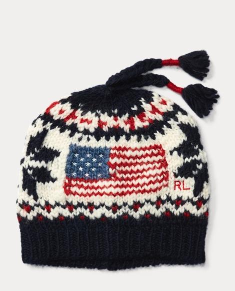 Flag Wool-Blend Hat