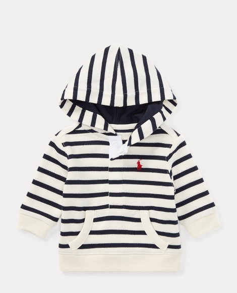 Striped Atlantic Terry Hoodie