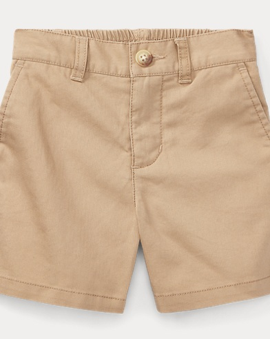 Ribbed Cotton Short