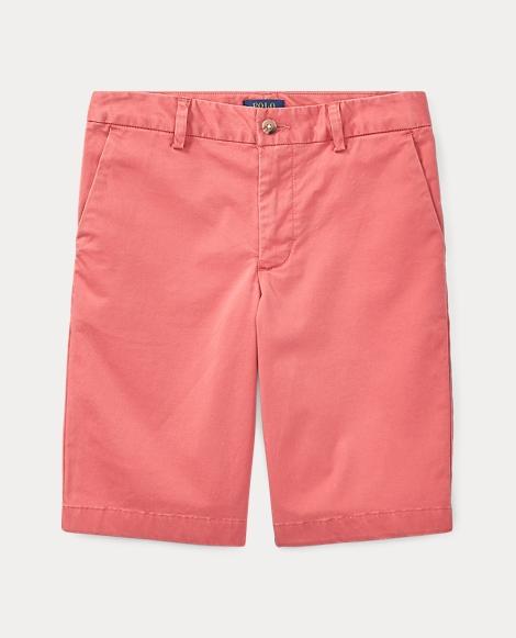 Stretch Cotton Chino Short