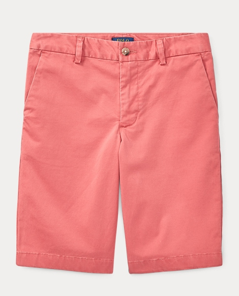 Stretch Cotton Chino Short