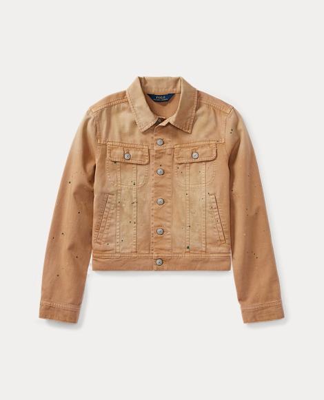 Distressed Trucker Jacket