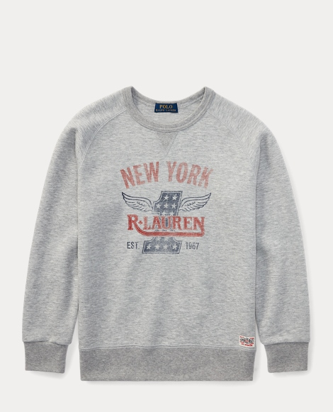Double-Knit Graphic Sweatshirt