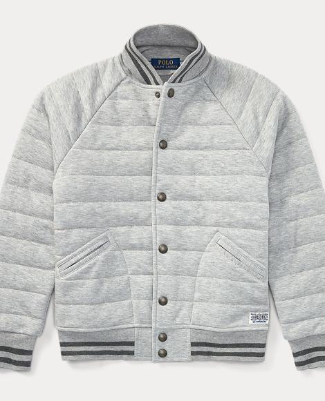 Double-Knit Baseball Jacket
