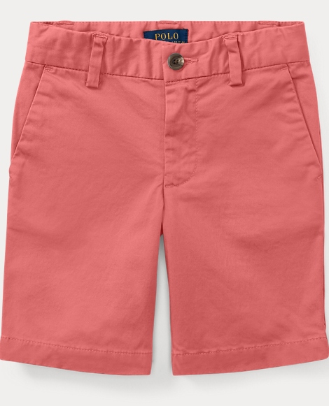 Slim Stretch Cotton Short