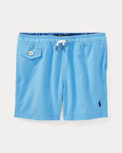 Traveler Twill Swim Trunk