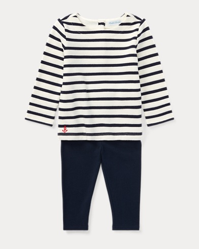Nautical Top & Legging Set