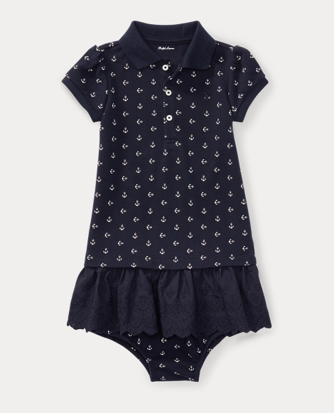 Anchor Polo Dress & Bloomer