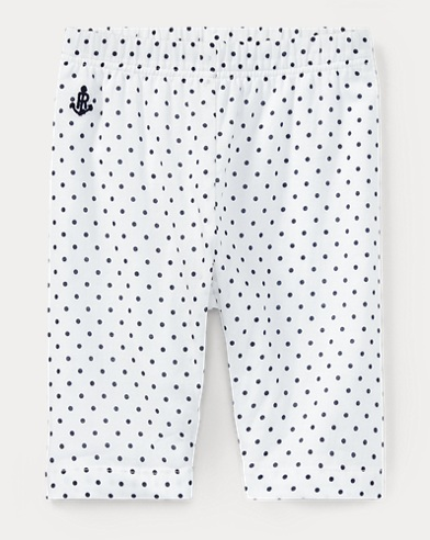 Polka-Dot Cotton Batiste Pant