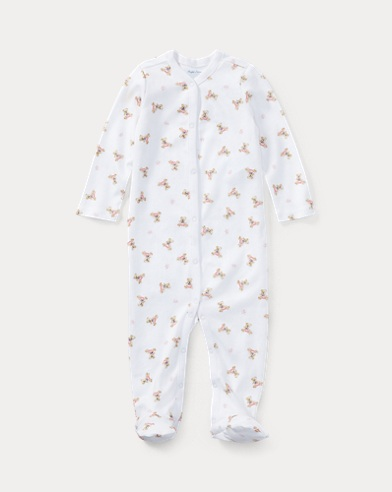 Polo Bear Cotton Coverall