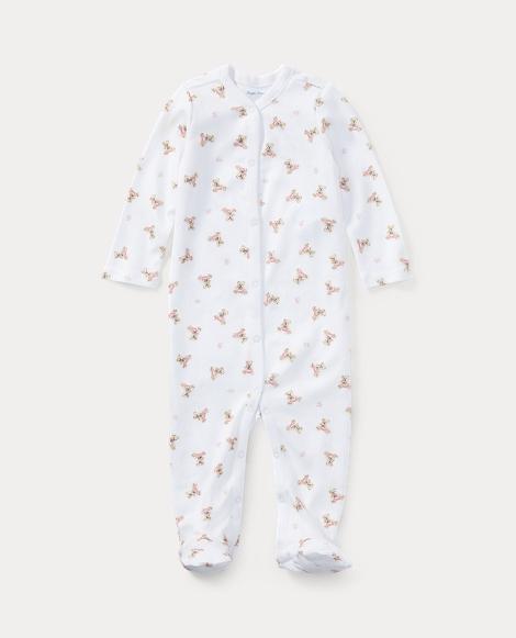 Polo Bear Cotton Coverall