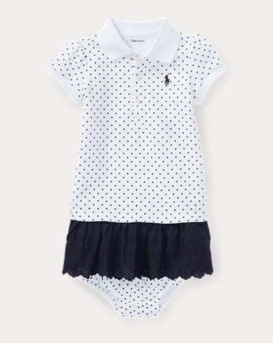 Eyelet Polo Dress & Bloomer