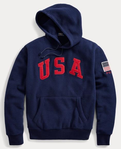 Americana Fleece Hoodie