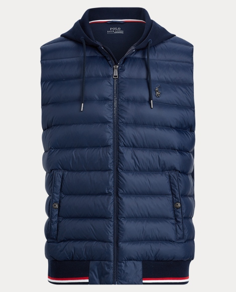 Active Fit Down-Paneled Vest