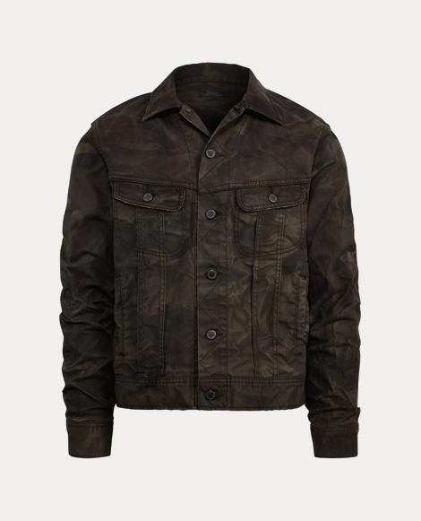 Stretch Denim Trucker Jacket