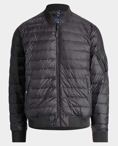 Packable Down Bomber Jacket