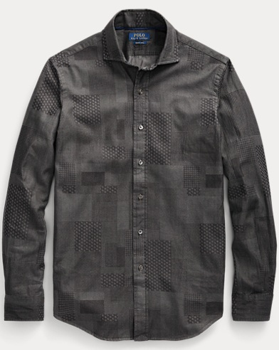 Classic Fit Patchwork Shirt