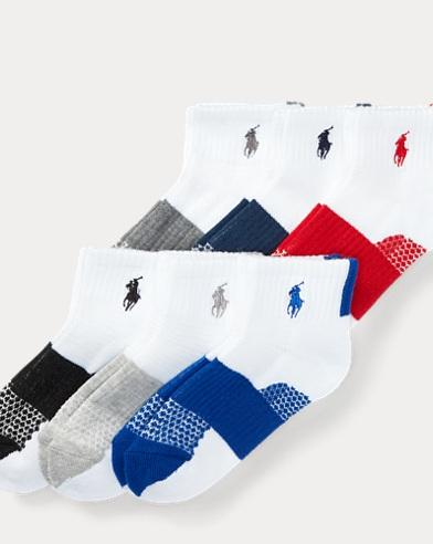 Color-Block Sport Sock 6-Pack