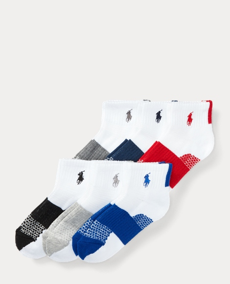 Color-Block Sport Sock 6-Pack