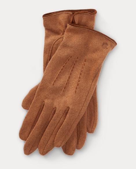 Lambswool-Blend Tech Gloves