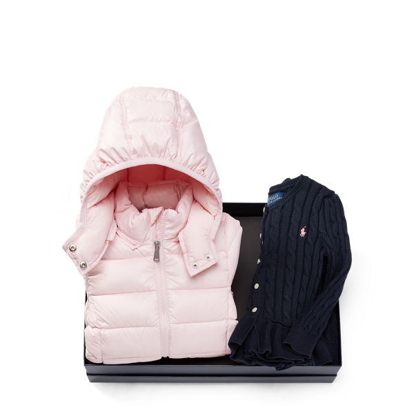 Ralph Lauren Jacket & Cardigan Gift Set Multi 6X