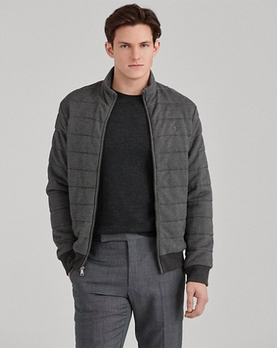 Quilted Cotton-Blend Jacket