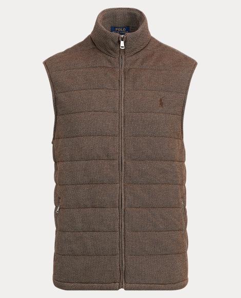 Quilted Cotton-Blend Vest