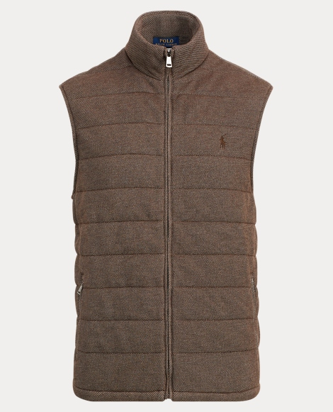 Quilted Cotton-Blend Vest